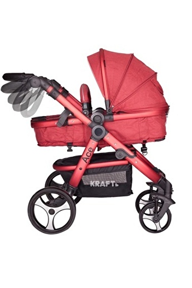 Kraft Bebek Arabası Kırmızı
